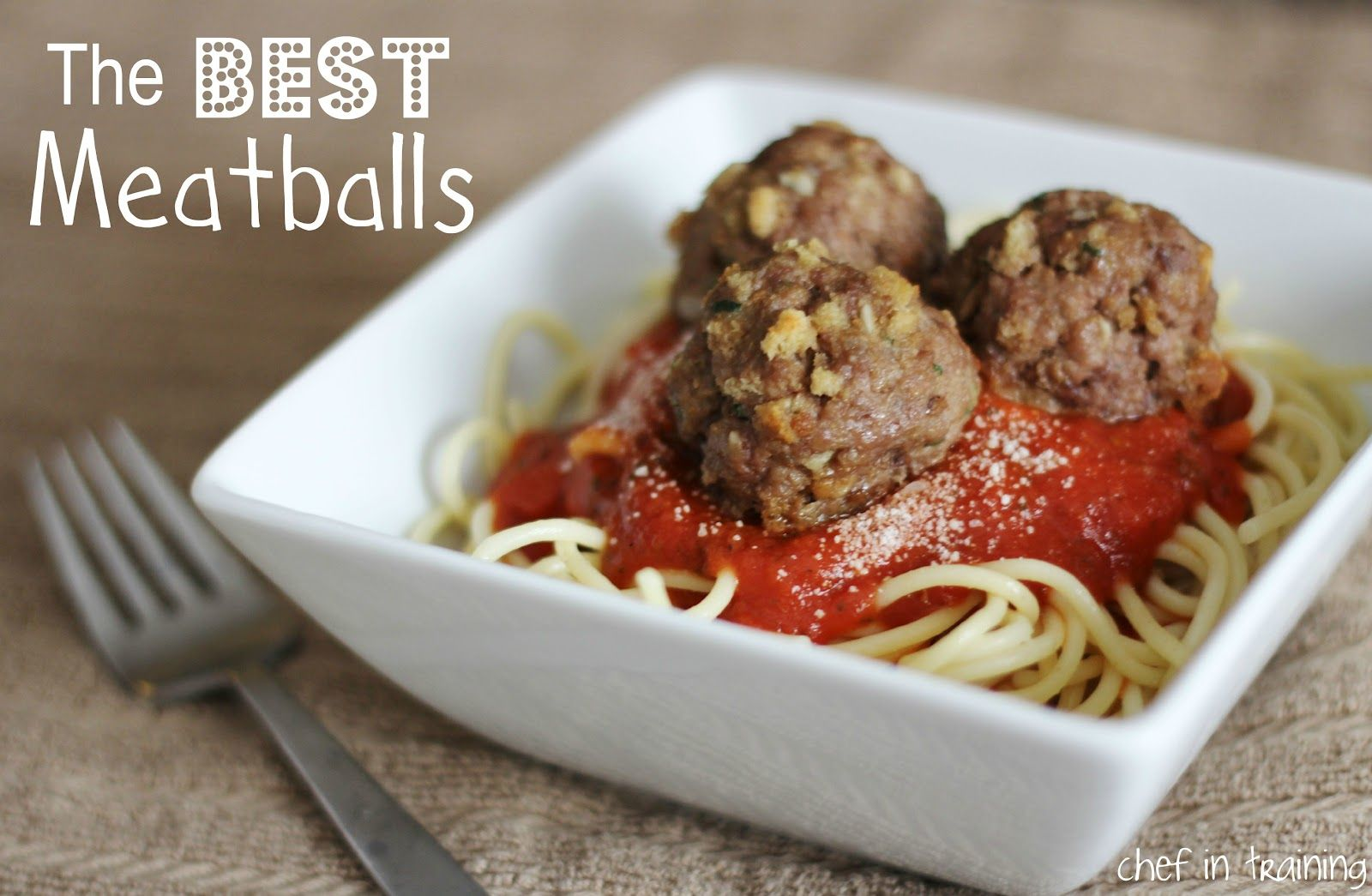 The Best Meatballs!... They really do live up to their name! Delicious!