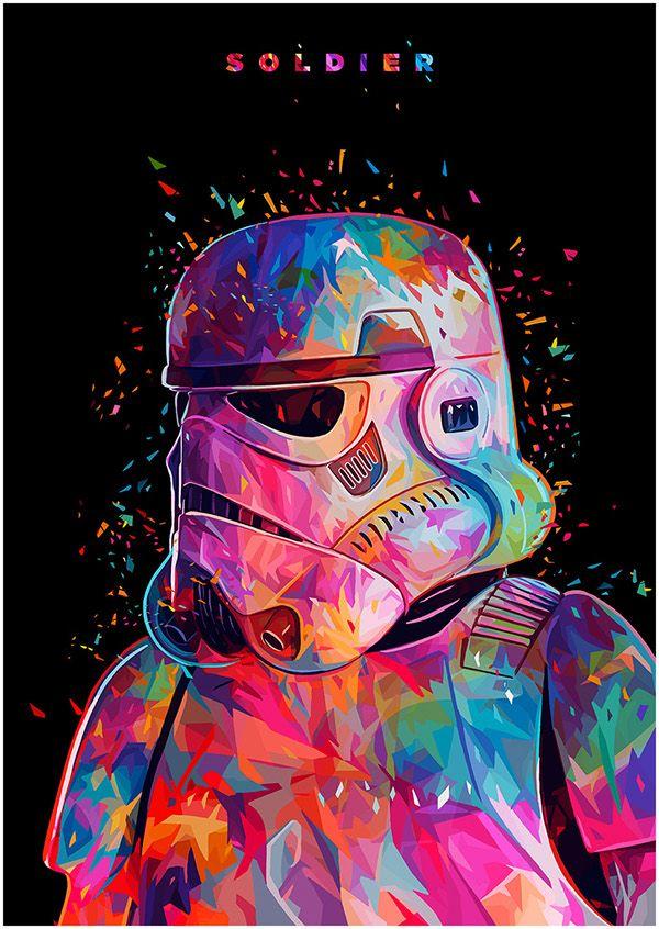 S O L D I E R - Stormtrooper portrait