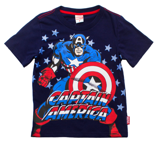 Kids Marvel Comic Style Avengers Youth T Shirt