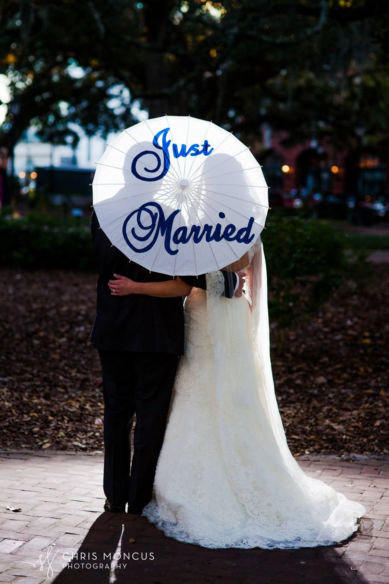 Just married photo prop parasol from etsy photos of the final