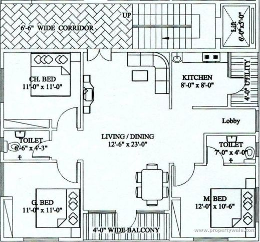 Fascinating North Facing House Vastu Plan In Telugu House Plans