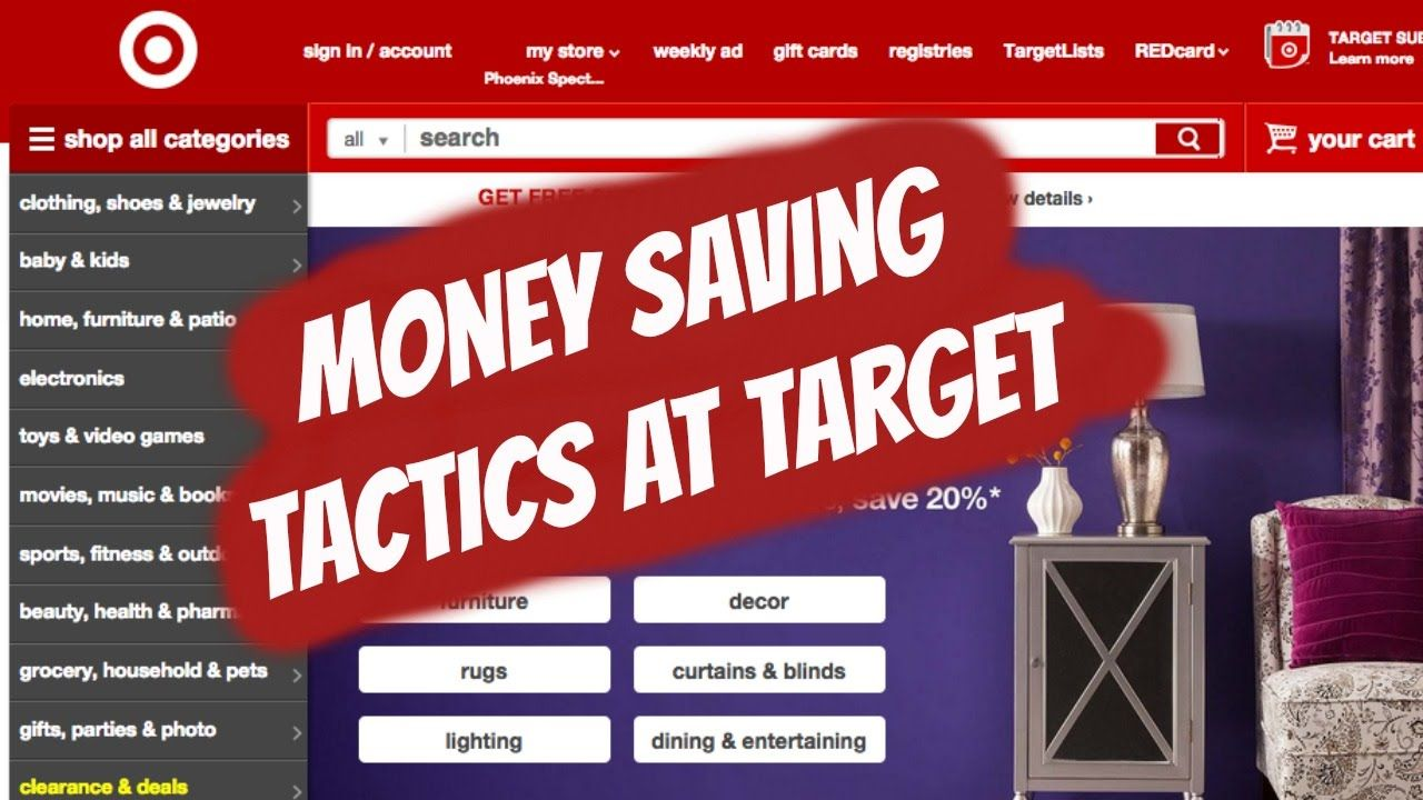 How To Save Money At Target - USING A SECRET STRATEGY!