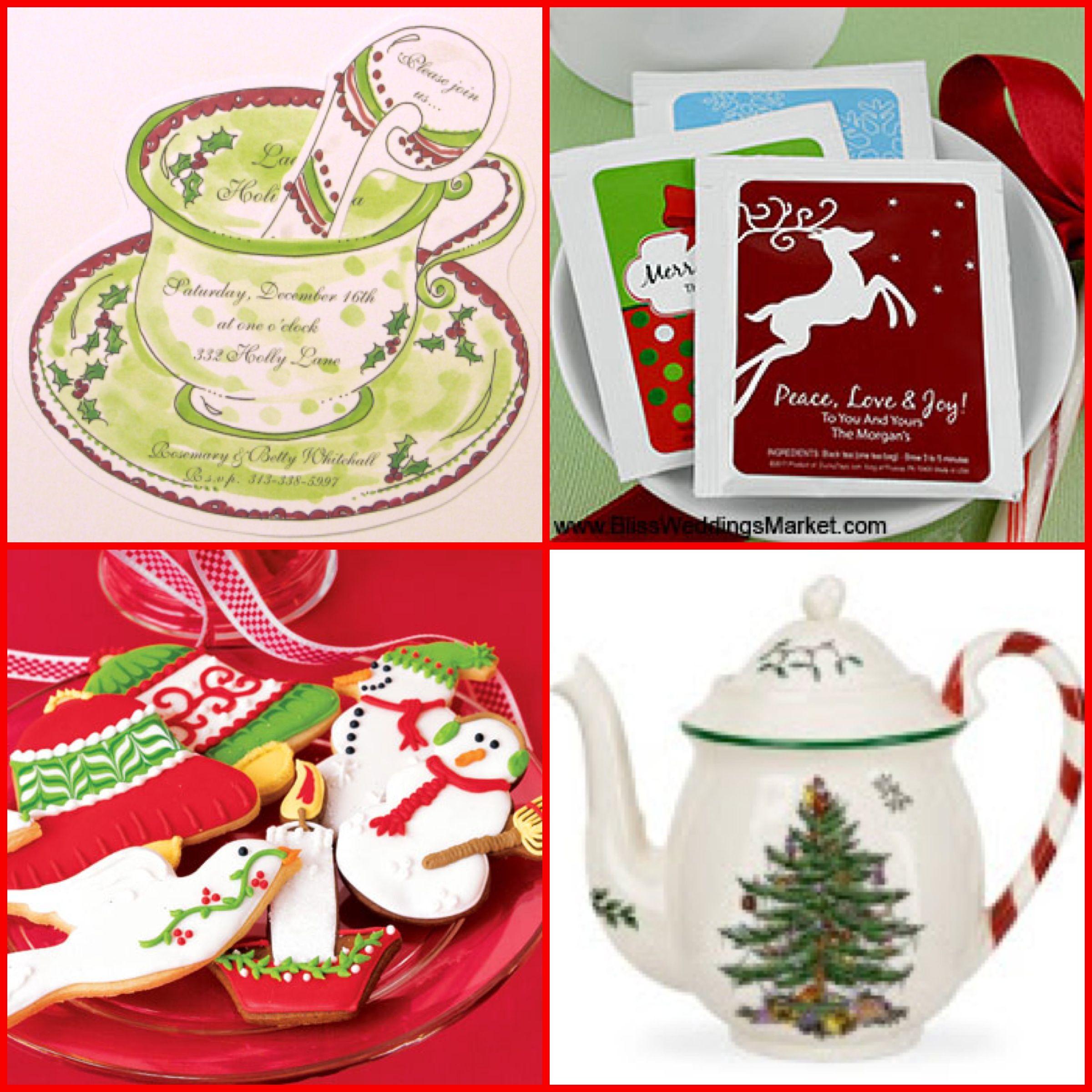 Christmas Tea Party Ideas: Holidays-Christmas And Winter
