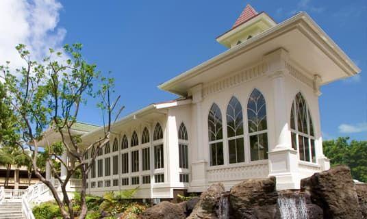 The Akala Chapel Gazebo Hilton Hawaiian Village Hilton Hawaiian Village Waikiki Hawaii