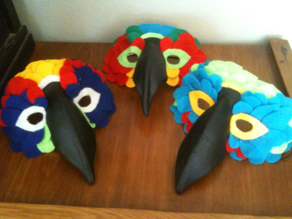 Bird Mask   Masking, Costumes and Parrot costume