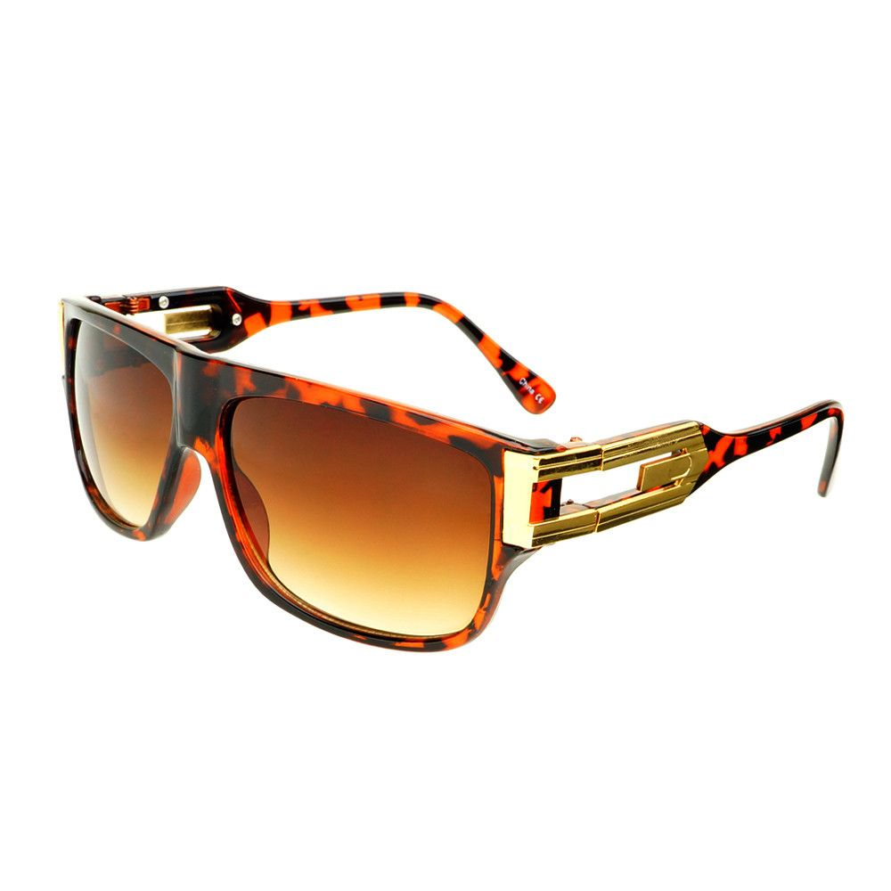 Designer Fashion Style Flat Top Aviator Sunglasses Shades A75