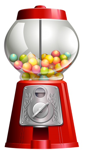 Gumball Png Clipart The Best Png Clipart Maquina De Chiclete Festa Confeitaria Doces