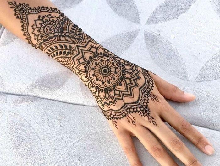 1001 Idees Pour Un Tatouage Henne Ultra Impressionnant Body