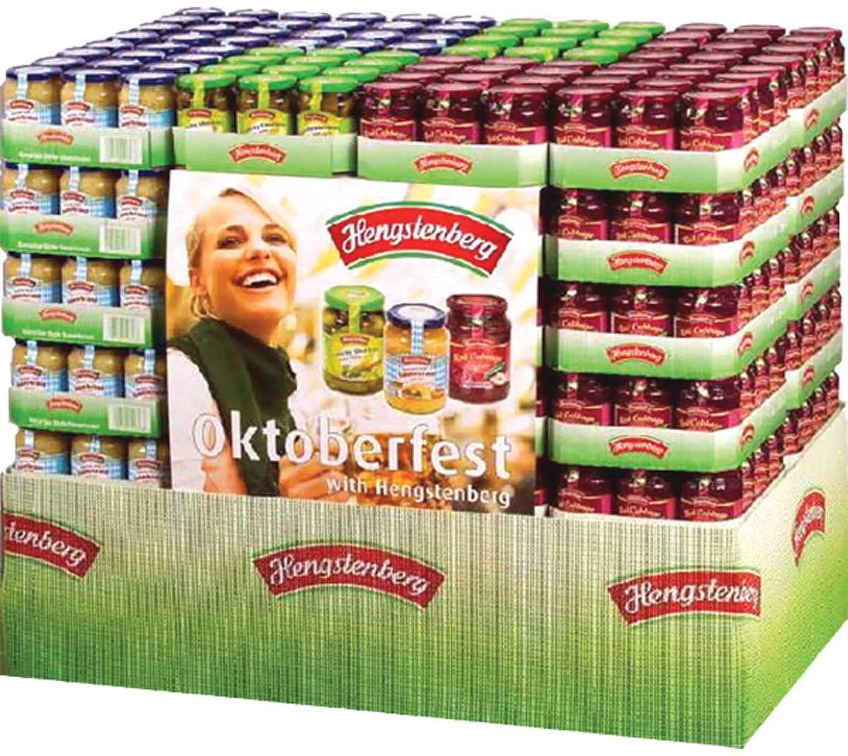 Hengstenberg German Pickles Amp Sauerkraut Pallet Display