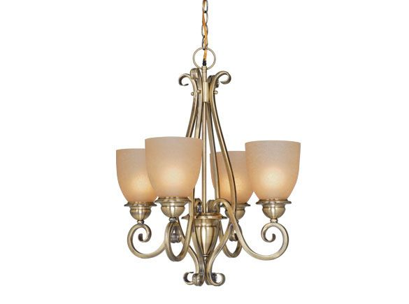 3, 4, or 5 lights! And color choices, too! This is the 4 light.  Vaxcel, Mont Blanc, Antique Brass.