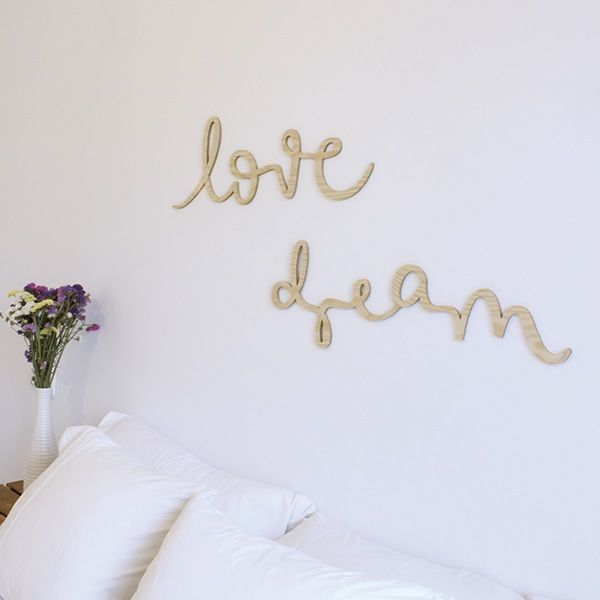 Image of Pack palabras de madera LOVE + DREAM