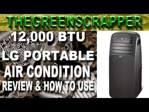 LG Electronics LP1215GXR 12%2C000 BTU Portable Air ...