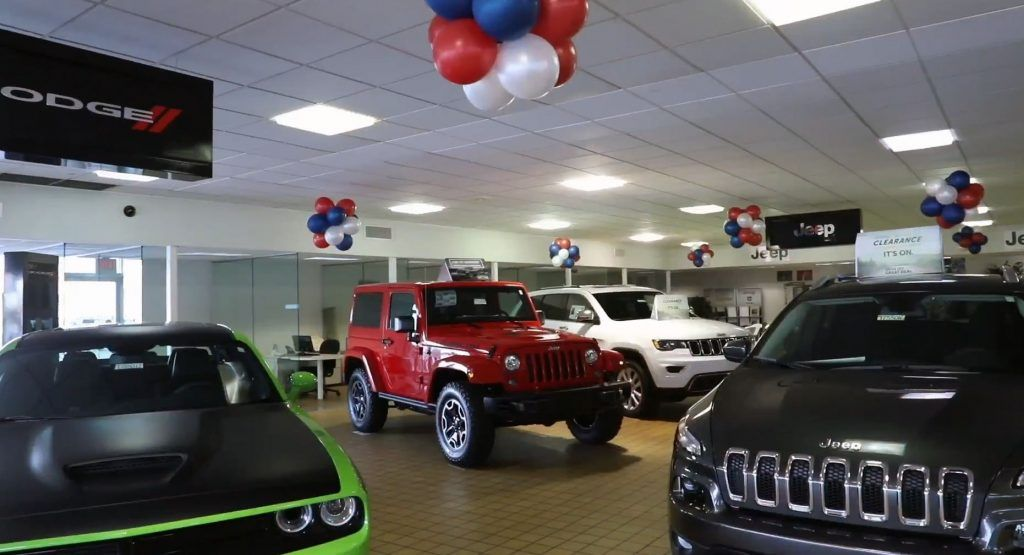 Fca Offering Biggest Discounts In A Decade As Inventories Pile Up