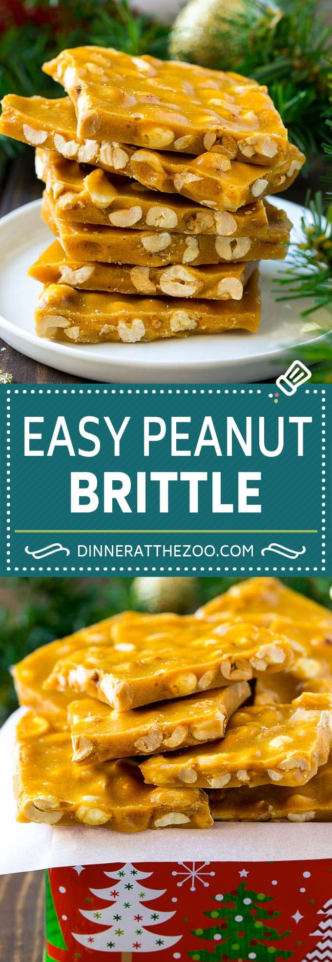 Peanut Brittle Recipe   Peanut Candy   Homemade Candy candy peanuts dessert sweets dinneratthezoo christmas is part of Candy recipes homemade -
