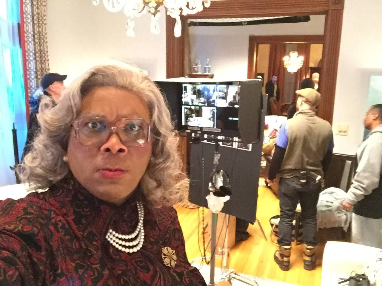 Tyler Perry Films 'Boo! A Madea Halloween' In 6 Days