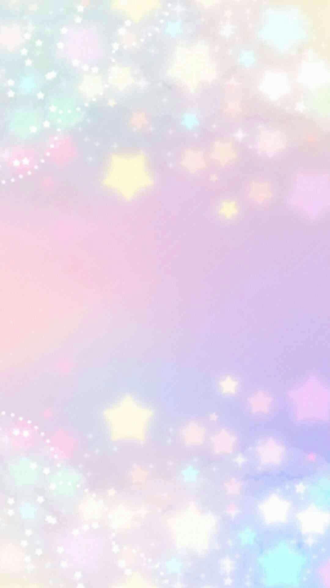 Sparkly Pastel ゆめかわいい 背景 キラキラ 壁紙 ゆめかわいい