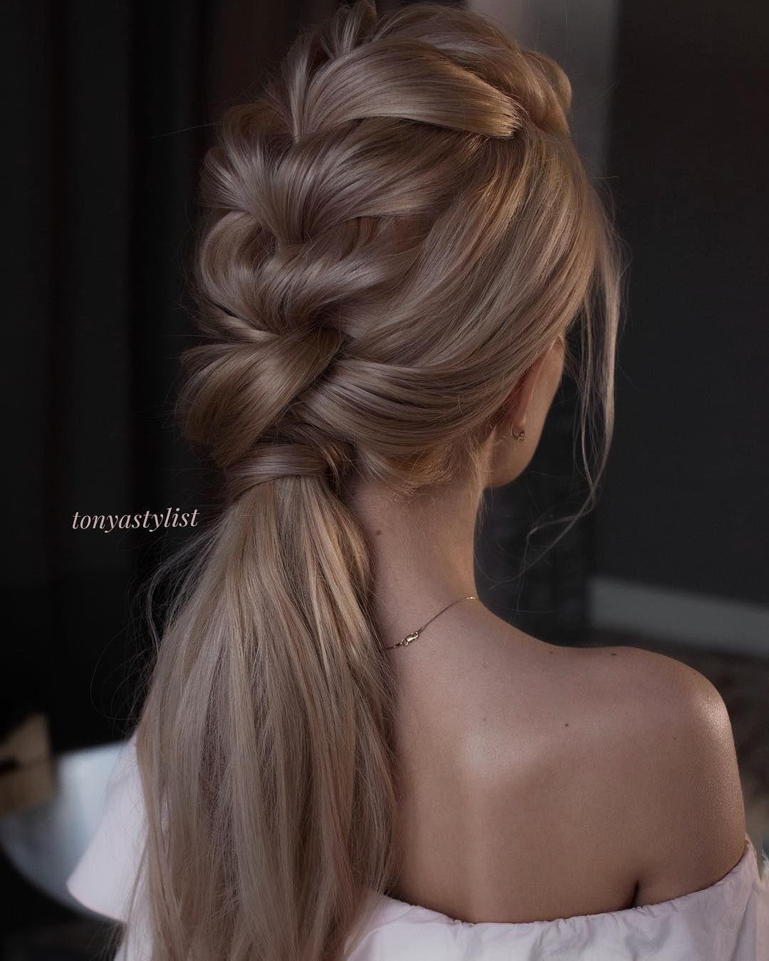 ponytail hairstyles weddinghair ponytails wedding hairstyles