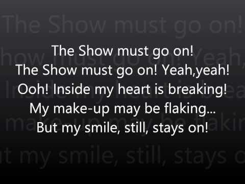 Queen The Show Must Go On Lyrics Hd Muziek