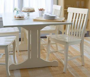 Inga Trestle Dining Table   Maine Cottage