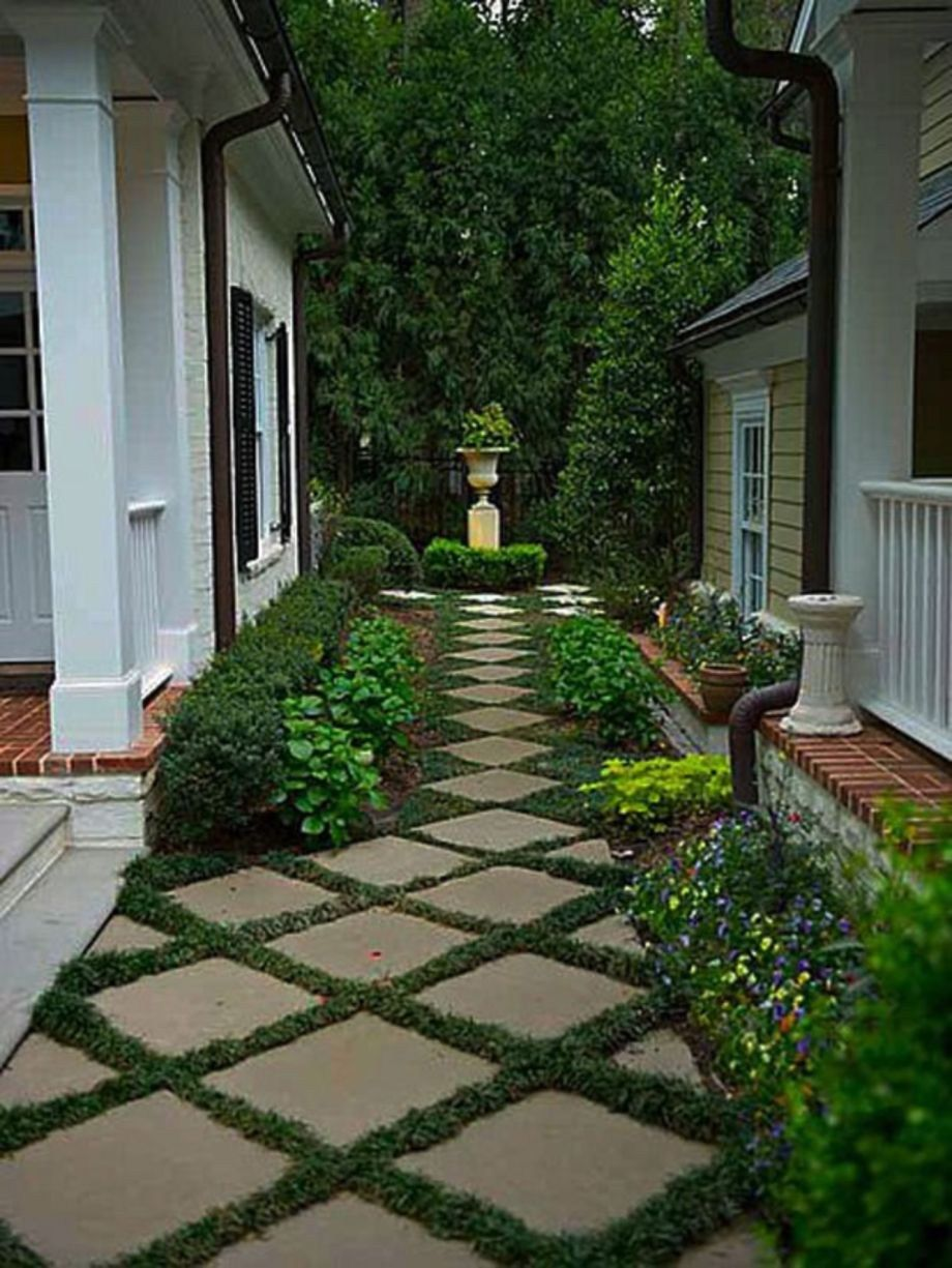 Cheap and practical garden path and walkway ideas 44 ...