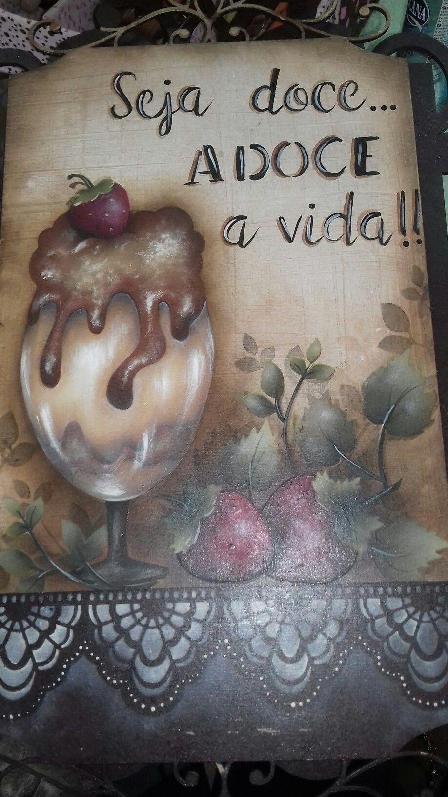 Pin de Lina Rosado em pinturas em tecido | Ideias para ...