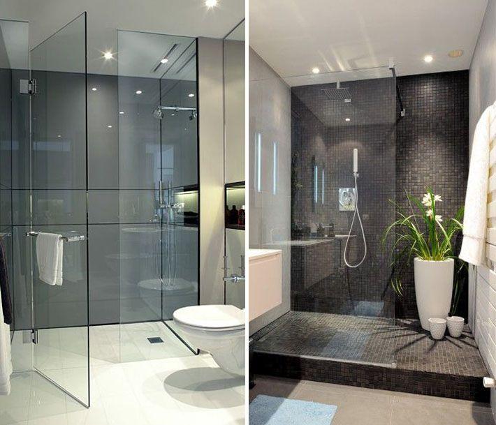 Iluminação dentro do box  Iluminação, Banheiros e Prioridade -> Projeto De Banheiro Com Banheira E Box