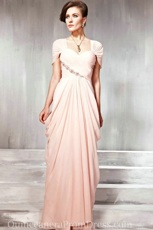 93ec41c47a6f2 Chiffon Maternity Best Evening Prom Dress With Sleeves Sale Online ...