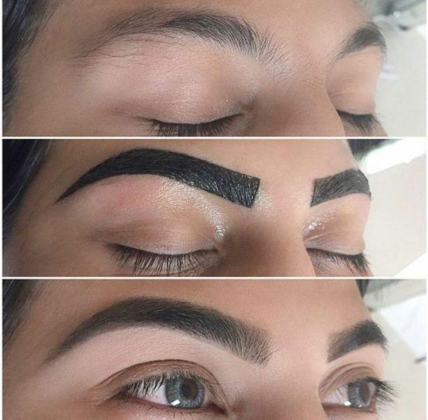 Henna Tattoo For Eyebrows: NEW Bio Formula REVERS , Argan&Castor Oil, Dark Brown