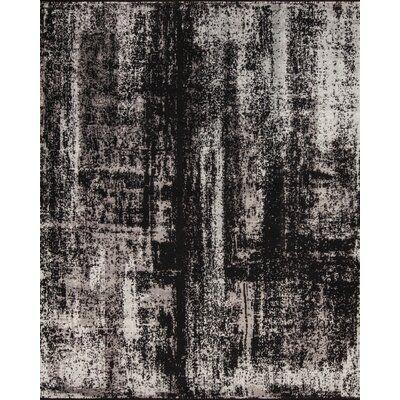 Samad Rugs Nirvana Abstract Black/Gray Area Rug | Perigold