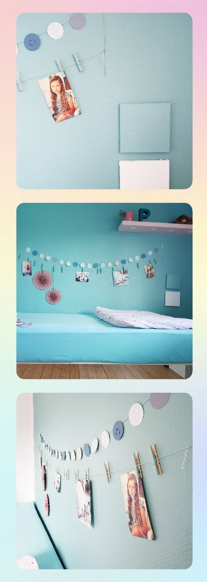zwischen kind und cool make up f r s kinderzimmer wandfarbe t rkis sch ner wohnen frozen. Black Bedroom Furniture Sets. Home Design Ideas