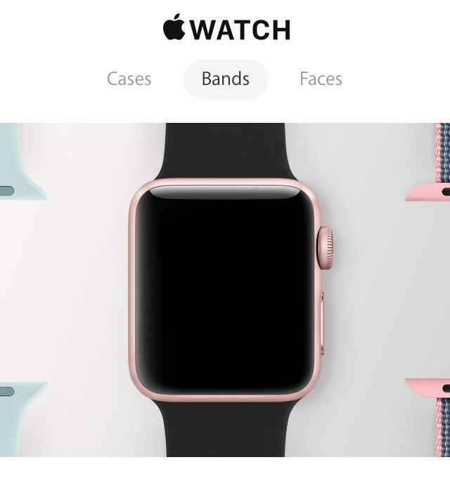 c868f8495 Apple Watch 2-series 2 with gps...rose gold or solid black case ...