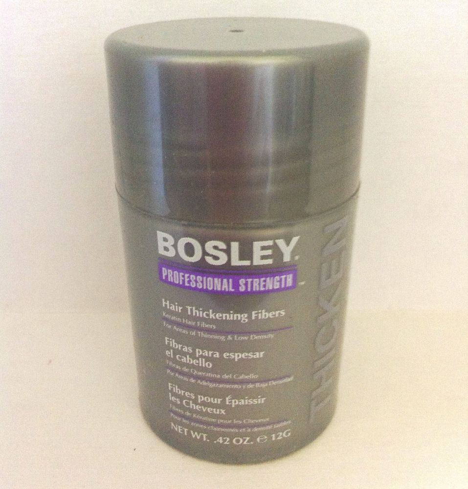 Bosley Thickening Fibers Light Brown Bosley Hair