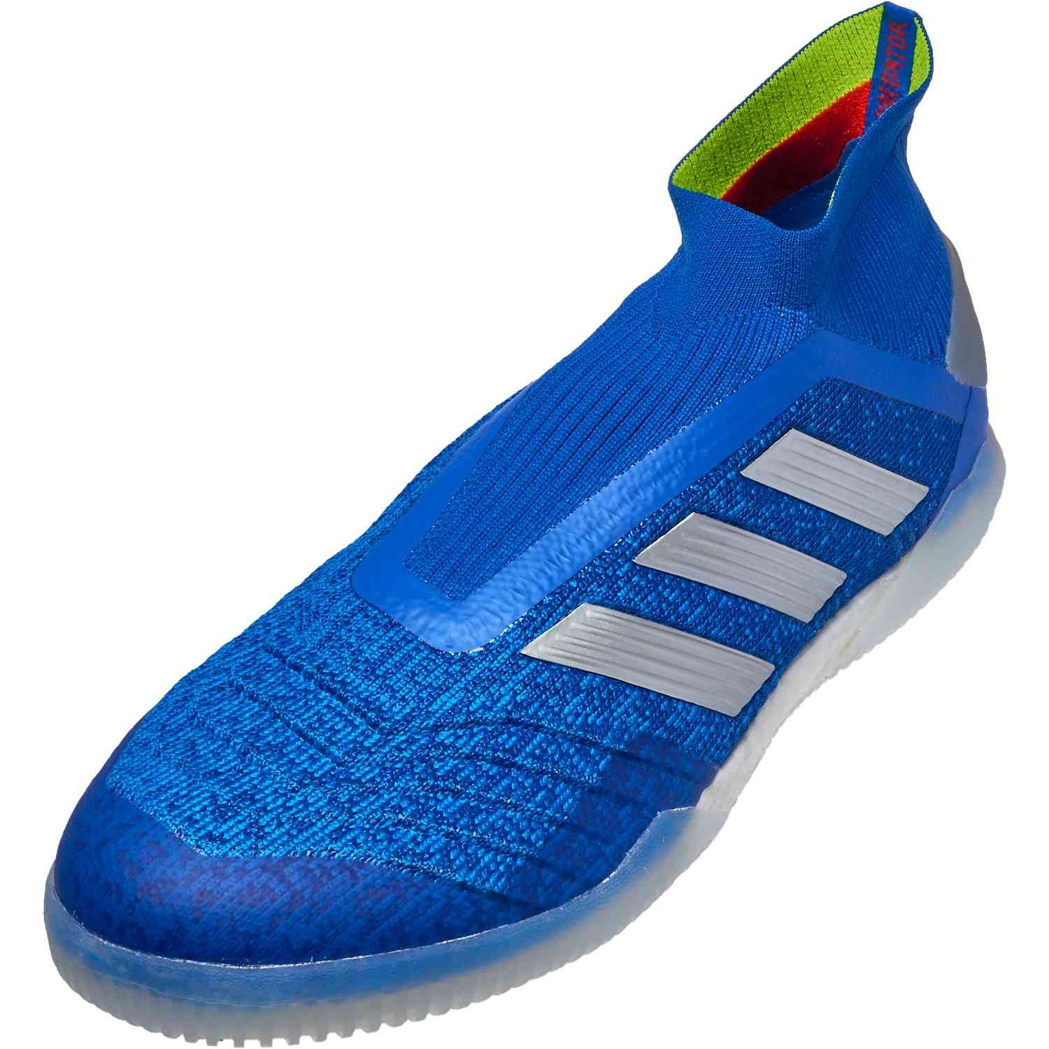 buy popular 32a2e d06ef Shop for the adidas Predator 19+ indoor soccer shoes from the Exhibit pack  today. Get them from SoccerPro today.