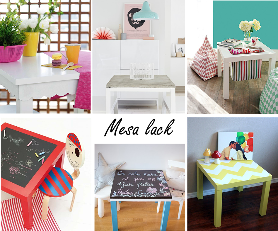 6 ideas para personalizar la mesa lack de ikea hall for Mesas ikea 5 euros