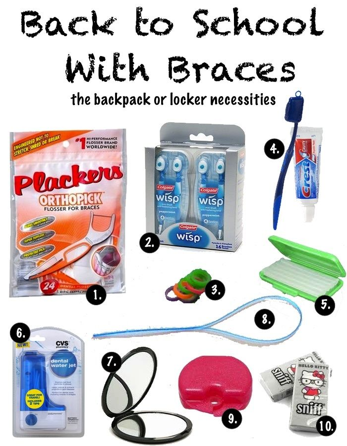 Does Your Child Have Braces Send Them Back To School With