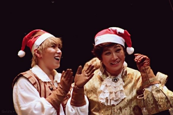 """The Three Musketeers"" Musical with Sungmin  Credit: goldie0415 