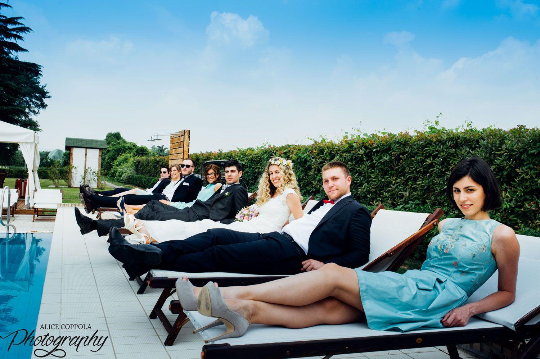 #bride #groom #bestmen #bridesmaid #weddingday | @AliceCoppola Photographer