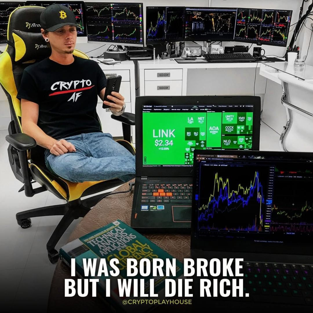 Crypt AF 💪💪 . 👉Tag a friend that needs more crypto