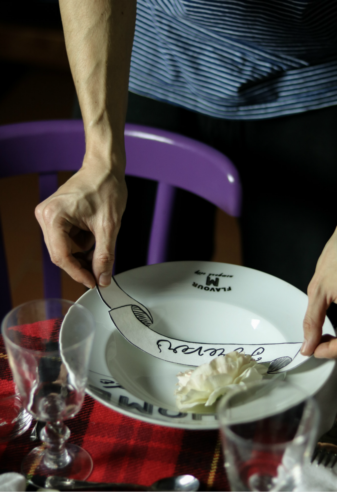 tavola romantica san valentino forever