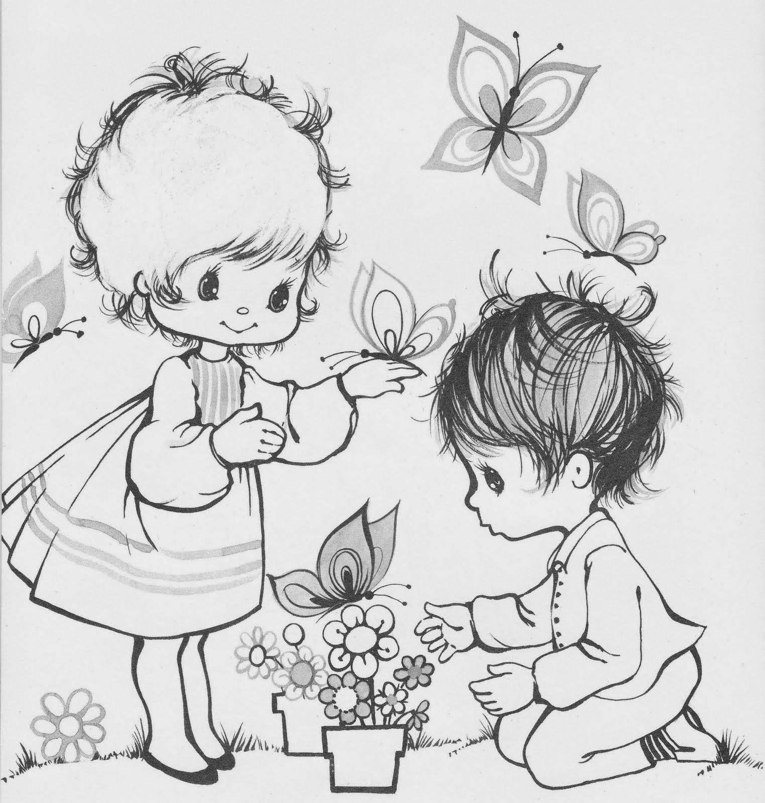 ESPAÇO EDUCAR: 50 desenhos de crianças para colorir, pintar ...