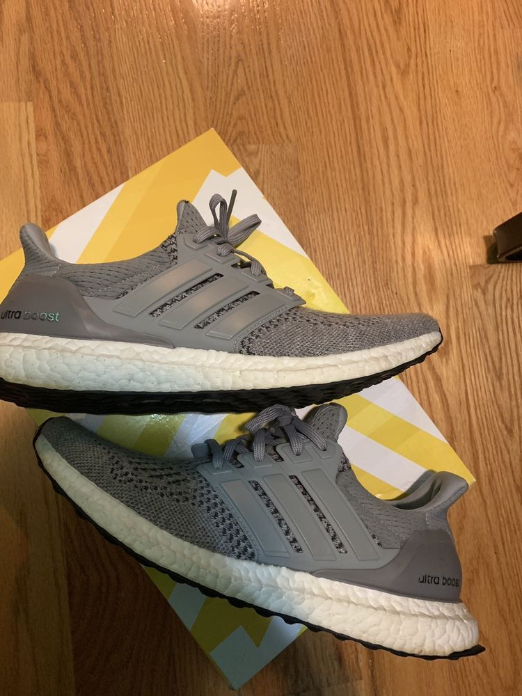 157388fcf9d06 Adidas Ultra Boost 1.0 Wool Grey S77510 Rare 100% Authentic Size 9 ...
