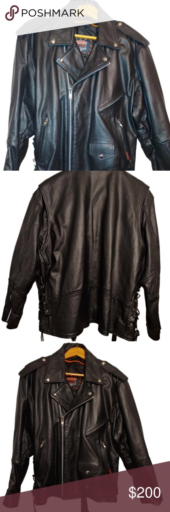 Nwot Interstate Leather Black Riding Jacket Fashion Clothes Design Pink North Face Jacket [ 1740 x 580 Pixel ]