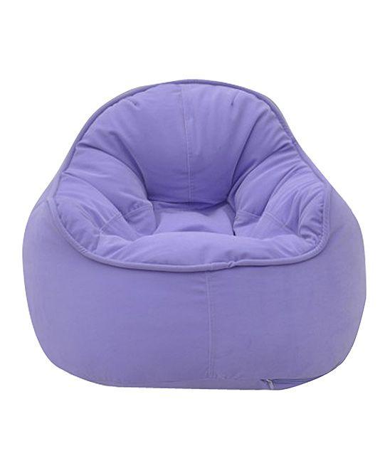 Large Light Purple Bean Bag Chair Cover