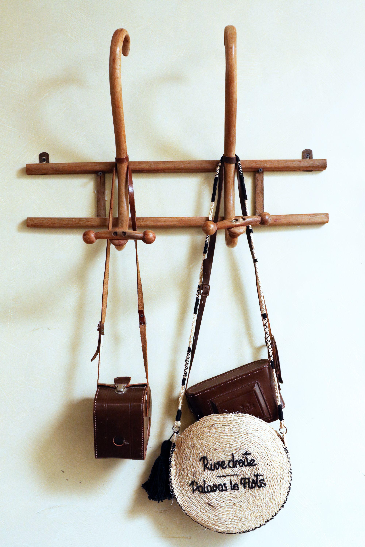 d439bede73 Tutoriel // DIY sac rond en paille - DIY Wicker basket bag // Step ...