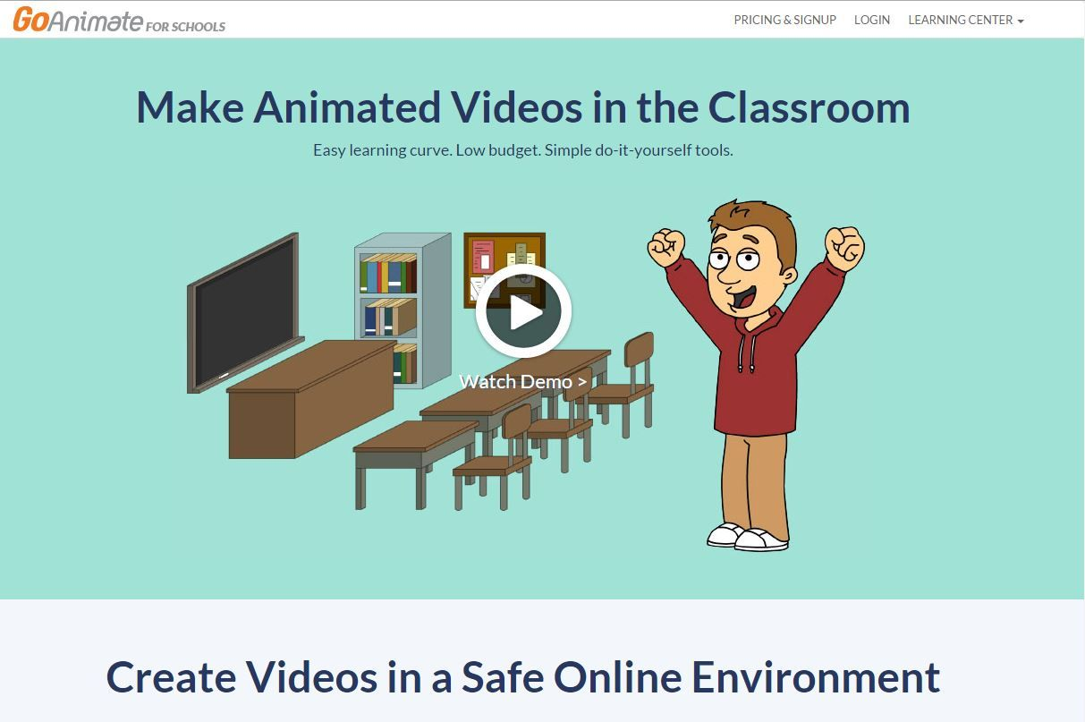 GoAnimate make animated videos for the classroom 14 day