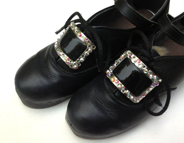 Diy Swarovski Crystal Buckles The Pink Paperdoll Buckle Shoes Irish Dancing Dresses Dance Fashion