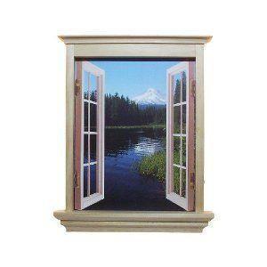 Cubivue Cubicle Decor Window Decoration With 4 Different Views Cubicle Decor Window Decor Cute Office Decor