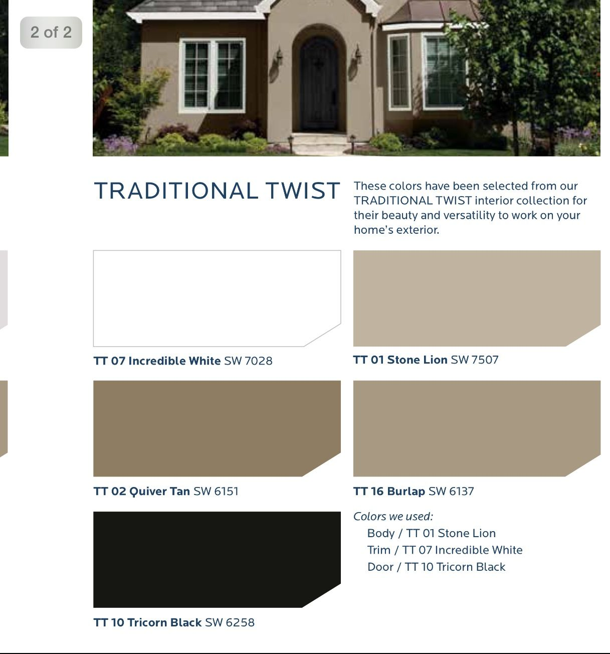 Sherwin Williams House Paint Exterior Exterior House Color