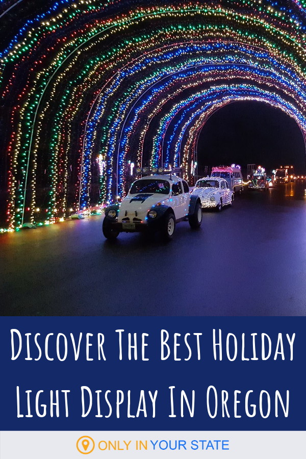 Drive Through 250 Holiday Light Displays At Winter