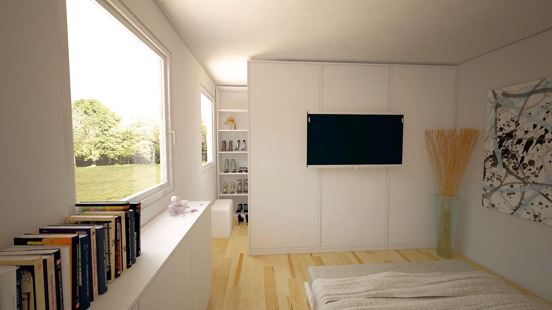 Trend Begehbarer Kleiderschrank in Schlafzimmer Mit der richtigen Planung bereits ab einer Gr e von m
